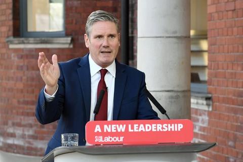 Labour har for alvor fået vind i sejlene, efter at Keir Starmer overtog posten som partileder fra den udskældte Jeremy Corbyn. (Arkivfoto).