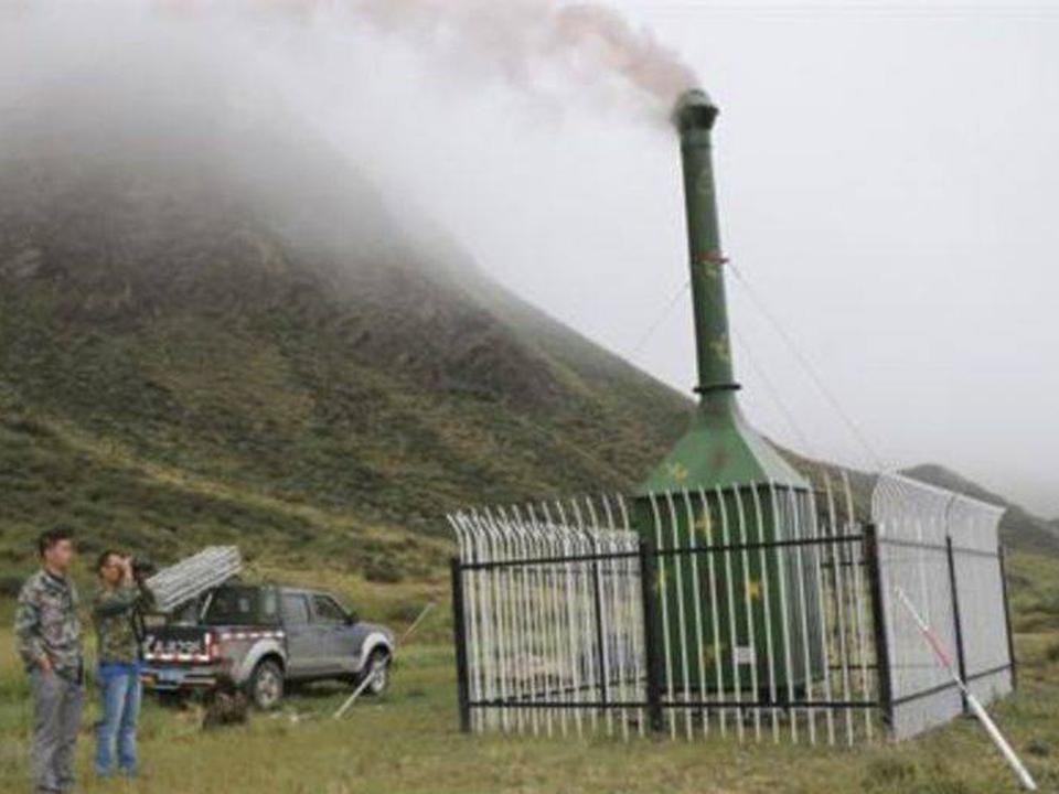 Kinesisk regn-maskine