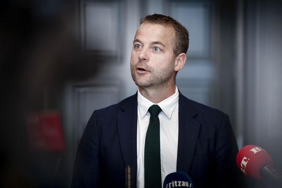 Radikale Venstres partileder Morten Østergaard. (Foto: Liselotte Sabroe/Ritzau Scanpix)