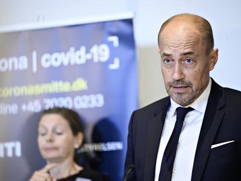 Sundhedsminister Magnus Heunicke (S) har travlt i disse dage grundet corona. (Arkivfoto)