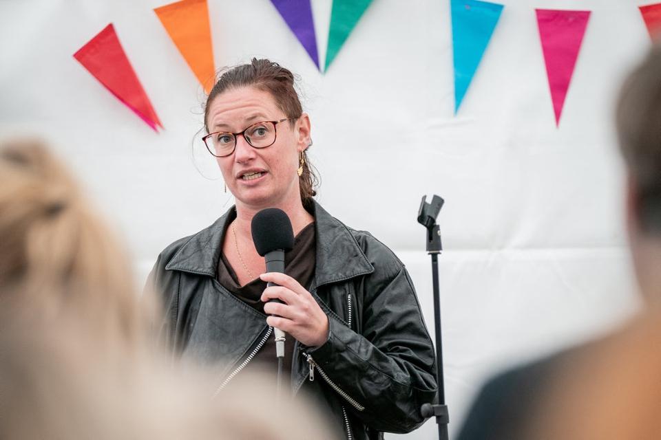 Teknik- og miljøborgmester Ninna Hedeager Olsen (EL) har været vidne i sagen om en påstået voldtægt, der skulle være sket i hendes seng. Men nu er manden frifundet. (Arkivfoto).