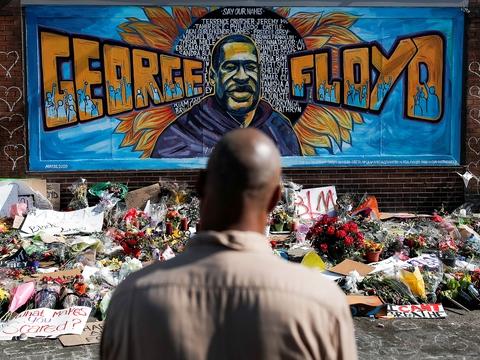 George Floyd skal begraves 9. juni i Houston i Texas, hvor han voksede op. (Foto: Carlos Barria/Reuters/Ritzau Scanpix)