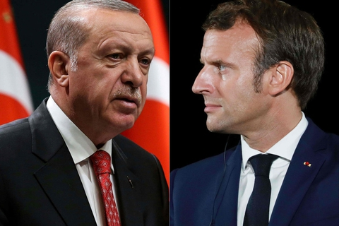Arabiske lande boykotter franske varer for at at støtte Tyrkiets fordømmelser af Frankrigs offentliggørelser af karikaturtegninger af profeten Muhammed.