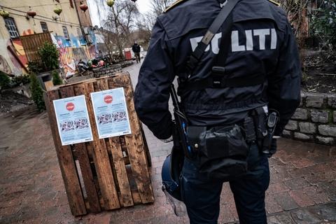 Det er midlertidigt forbudt at tage ophold i Pusher Street og Green Light District på Christiania i tidsrummet mellem klokken 10-24.