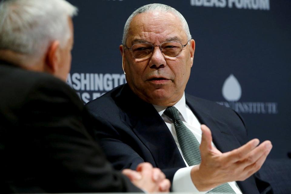 """Powell, som er en kendt kritiker af Trump og allerede i 2016 stemte imod ham, siger ifølge CNN, at han er """"stolt"""" af de tidligere embedsmænd, der har sagt Trump imod for hans respons på demonstrationer. (Arkivfoto.)"""