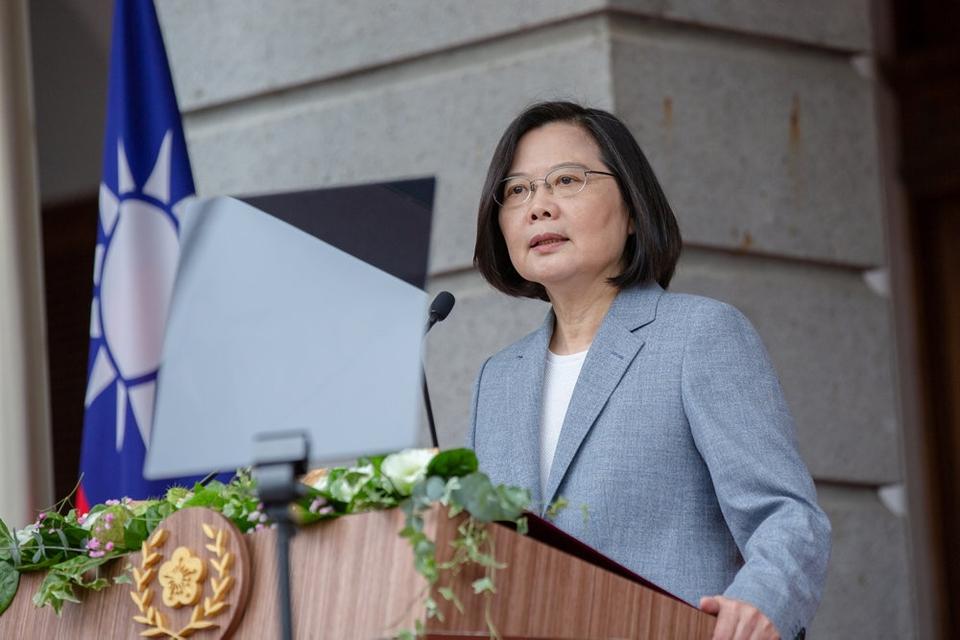 Taiwans præsident Tsai Ing-wen opfordrede i en tale onsdag morgen dansk tid Kina til at eksistere side om side.