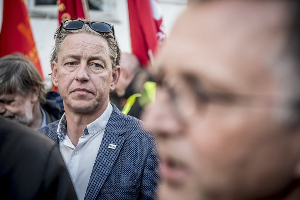 Flemming Vinther fra HKKF har været kritiseret af sin egen bestyrelse. Nu trækker han sig som formand.