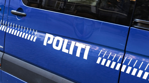 Det var i mange timer uvist, hvorfor politiet var til stede i Kongensgade i Esbjerg. Det viste sig dog at dreje sig om en legetøjspistol. (Arkivfoto)