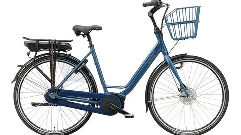 Københavns Politi efterlyser en blå elcykel som denne af mærket Batavus.