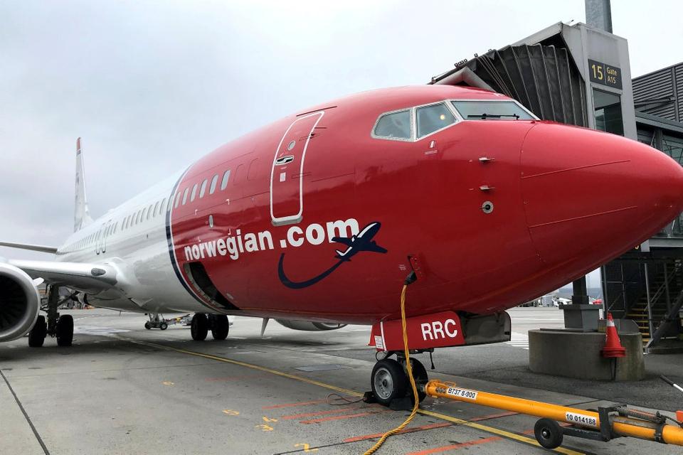 Mange af Norwegians fly har holdt stille på jorden den seneste tid på grund af coronakrisen. (Arkivfoto)