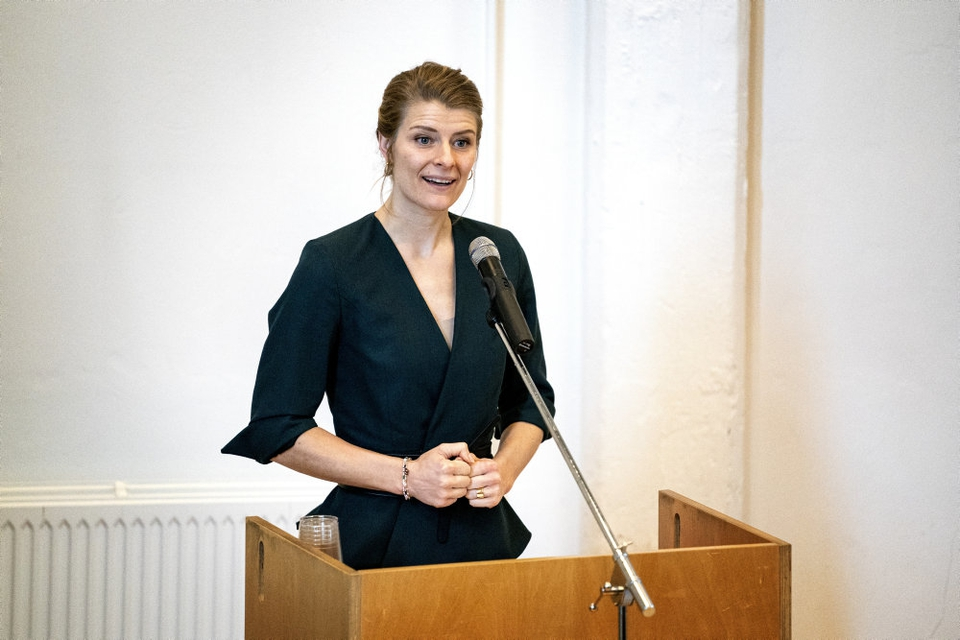 Uddannelses- og forskningsminister Ane Halsboe-Jørgensen (S) vil have flere til at søge ind på uddannelser som sygeplejerske, lærer og it-ingeniør. (Arkivfoto)