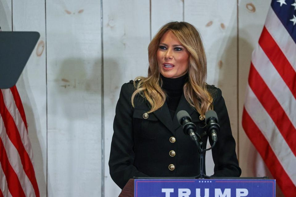 I den afsluttende del af erklæringen udtaler Melania Trump, at det har være en stor ære at være førstedame i USA. (Arkivfoto).
