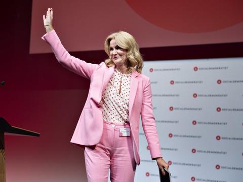 Socialdemokraten Helle Thorning-Schmidt var statsminister i Danmark fra 2011 til 2015. (Arkivfoto)