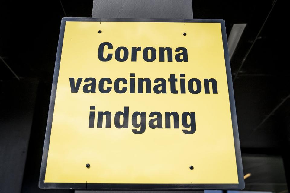 Vaccinationscenteret i Roskilde Kongrescenter.