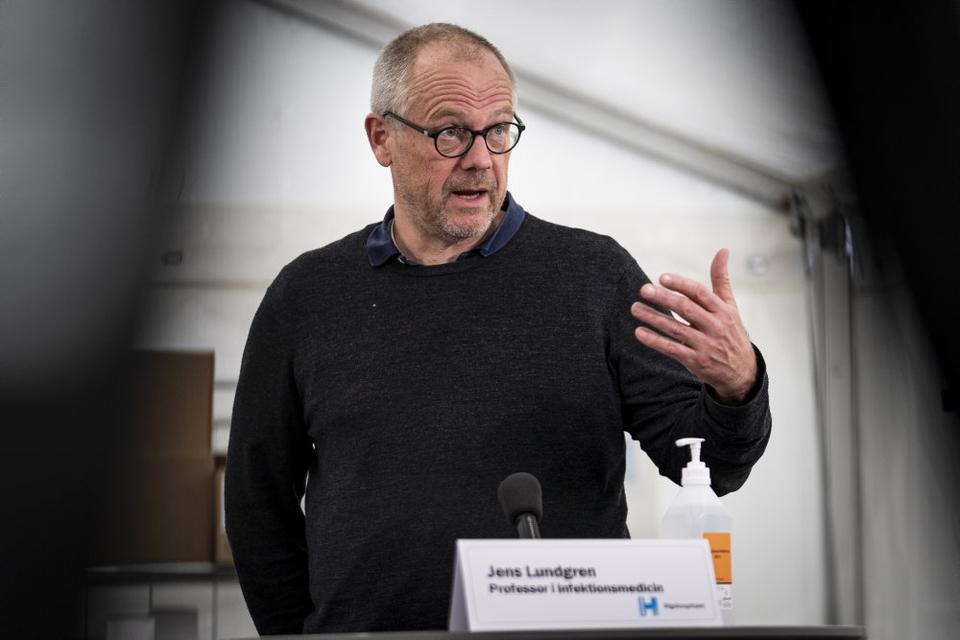 Professor Jens Lundgren fra Rigshospitalet og Københavns Universitet skal stå i spidsen for en global indsats mod coronavirus. (Arkivfoto)