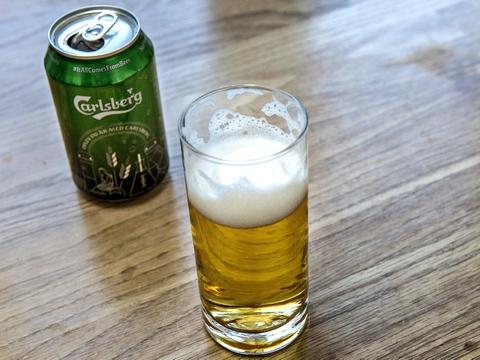Carlsberg slår sig nu sammen med britisk ølbryggeri. (Arkivfoto)