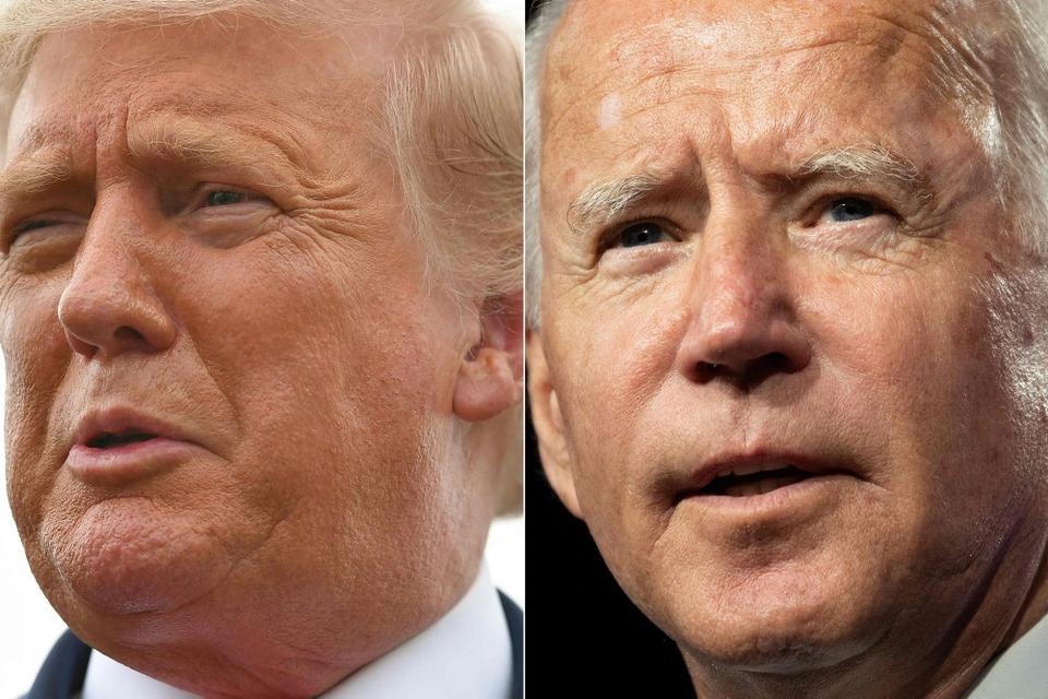 Hård tone præger optakten til første tv-duel mellem præsident Donald Trump og hans demokratiske udfordrer, Joe Biden, tirsdag. Trump sagde søndag i et tweet, at han vil stille krav om, at Biden bliver testet for doping, mens Biden siger, at præsidenten ikke kan  meget andet end fremsæte personangreb og løgne.