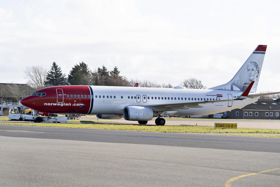 Norwegian har ligesom resten af flybranchen været hårdt presset af coronavirusset. Men det norske flyselskab var allerede før udbruddet hårdt presset og kæmpede med en gæld på omkring 60 milliarder norske kroner. Derfor forsøger man at få kreditorerne med på en redningsplan, der skal skære gælden ned. (Arkivfoto)