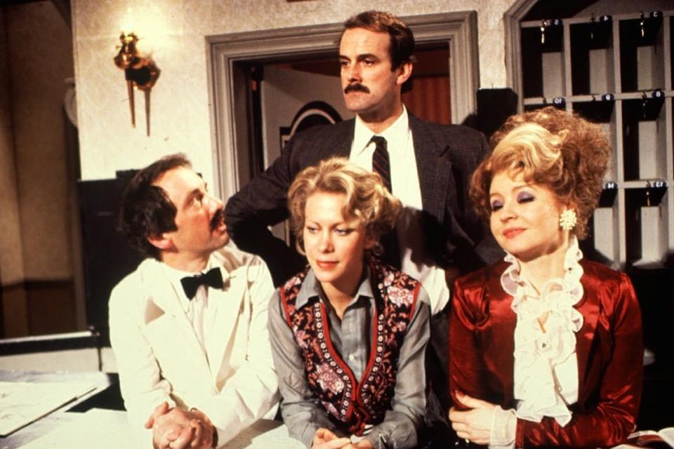 Halløj på Badehotellet tonede første gang frem på skærmen i 1970'erne, men er blevet genudsendt adskillige gange siden. (Arkivfoto).