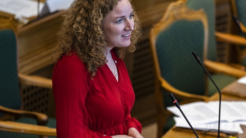 Rosa Lund, Enhedslisten. (Foto: Martin Sylvest/Ritzau Scanpix)