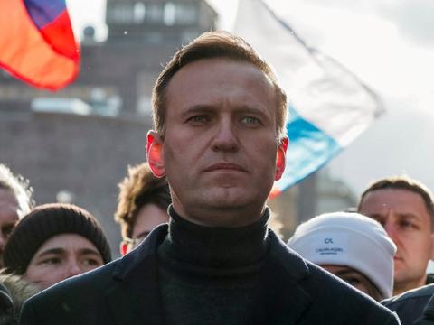 Oppositionslederen Navalnyj har været genstand for flere efterforskninger, men aldrig siddet længere tid i fængsel i Rusland. (Arkivfoto.)